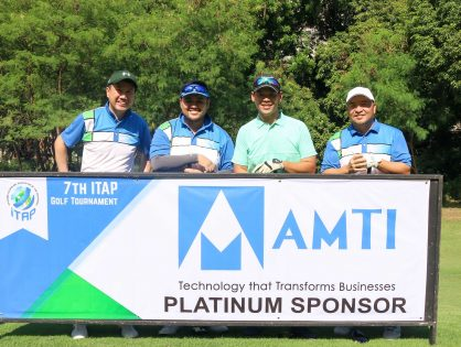 AMTI Joins the 7th ITAP Golf Tournament as a Platinum Sponsor