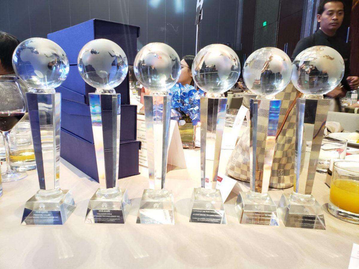AMTI Takes Home Six Awards at the Huawei EBG Channel Partners Conference 2019