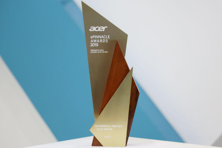 AMTI Received Two Awards at Acer Philippines ePinnacle Awards 2019