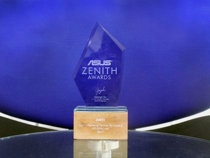 Top Performing Partner for Zone 2 Award Goes to AMTI