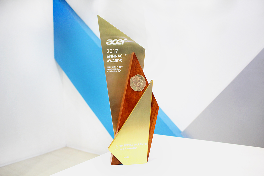 AMTI Awarded by Acer as Commercial Partner