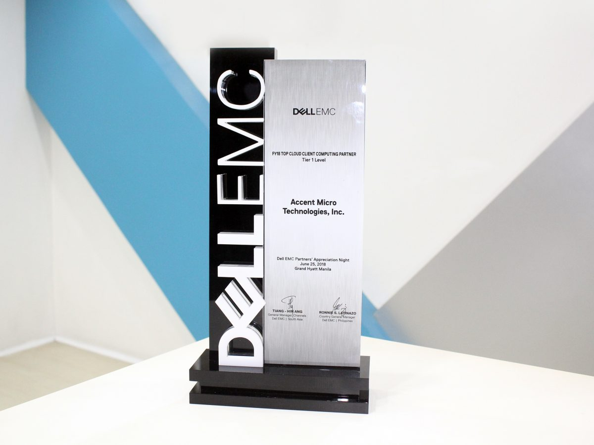 AMTI Once Again Receives Two Awards from Dell EMC