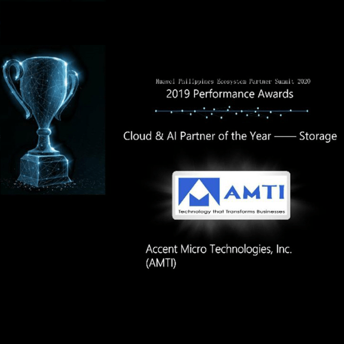 Huawei_Cloud_AI_Partner_of_the_Year_2019_Storage
