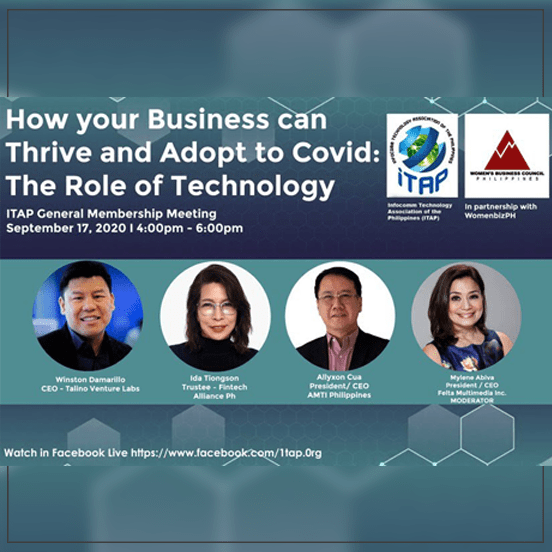 ITAP Webinar: How Your Business can Thrive and Adopt to COVID: The Role of Technology