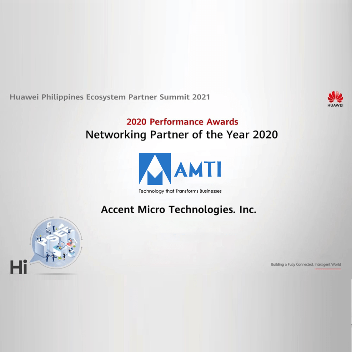 AMTI received two notable awards from Huawei